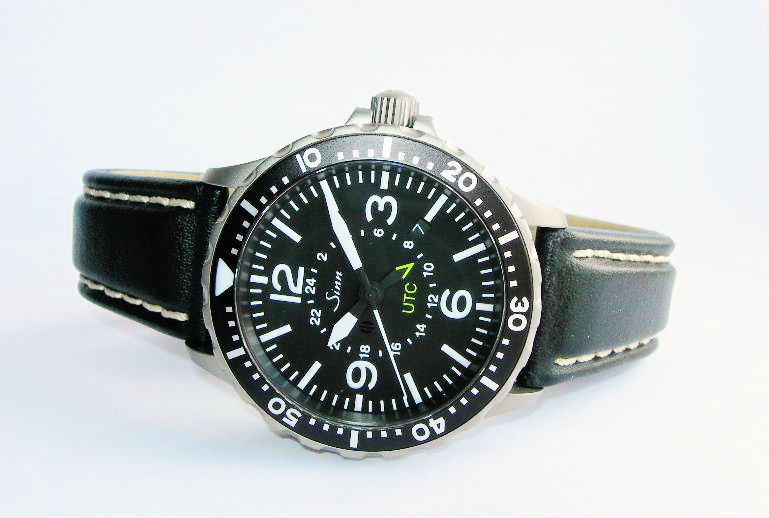 sinn flieger automatic 857 pilots watch sinn flieger 857 utc