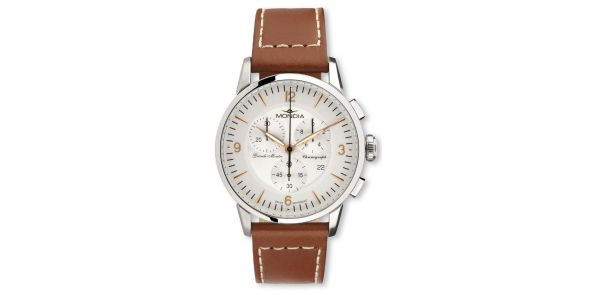 Mondia Grande Montre Chronograph Leather - MON 646-2G
