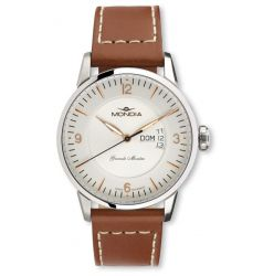 Mondia Mondia Grande Montre Leather Wristwatch MON 649-2G