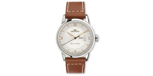 Mondia Grande Montre Leather Wristwatch - MON 649-2G