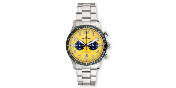 Mondia Triumph Yellow Face Sports Watch - MON 594-12Y