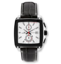 Mondia Mondia Triumph Square Steel and PVD Watch MON 660-1B