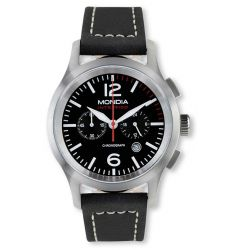 Mondia Mondia Intrepido Sports Black Face Watch MON 669-1B