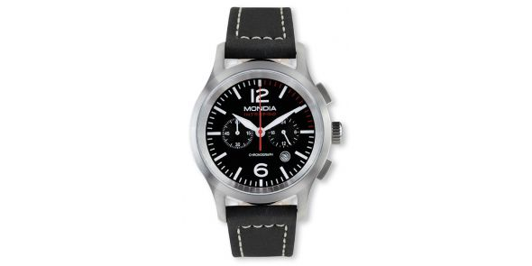Mondia Intrepido Sports Black Face Watch - MON 669-1B