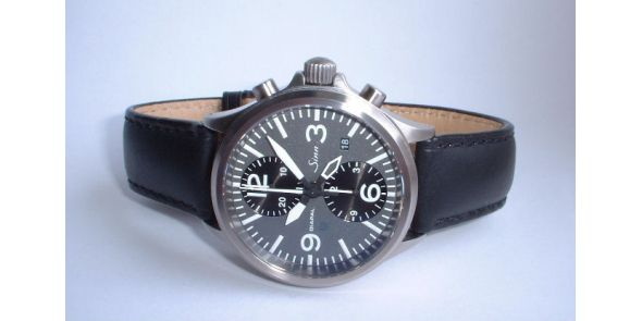 Sinn Flieger 756 UTC DIAPAL - Leather Strap