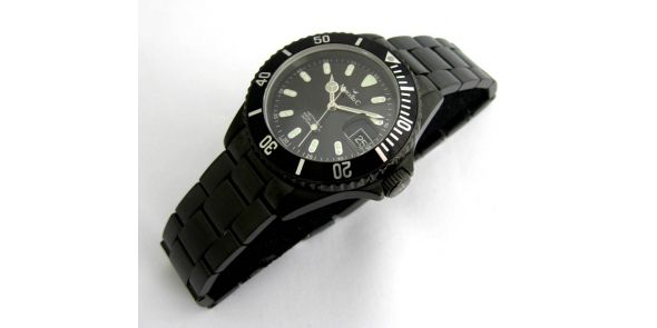 Marcello C Nettuno Divers Wristwatch - PVD - MAT 11