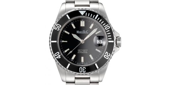 Marcello C Nettuno 3 SW200 Automatic Divers watch - MAT 10
