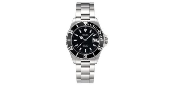 Marcello C Nettuno Divers Wristwatch Black Dial - MAT 03