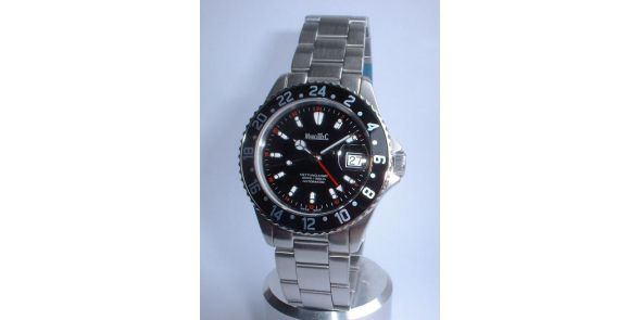 Marcello C Nettuno GMT Divers Wristwatch - MAT 04