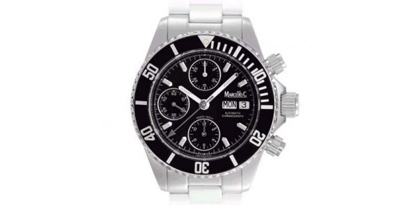 Marcello C Nettuno Divers Chronograph Wristwatch - MAT 05