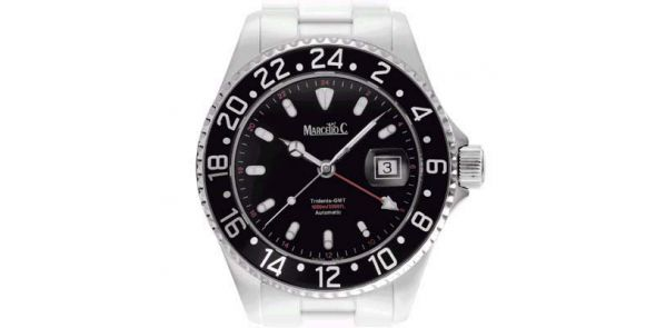 Marcello C Tridente GMT - Black Dial - MAT 07