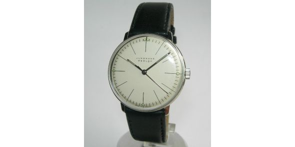 Max Bill by Junghans - Hand Winding. Index - MXB 03