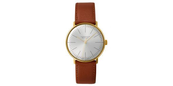 Max Bill by Junghans - Hand Winidng Gold Plate - MXB 04