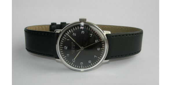 Max Bill by Junghans - Hand Winding. Black - MXB 05