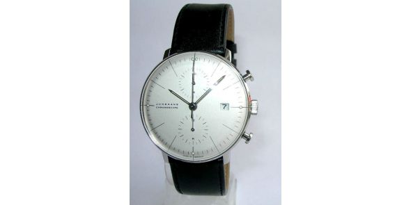 Max Bill Chronoscope by Junghans Automatic Chronograph. Index - MXB 08