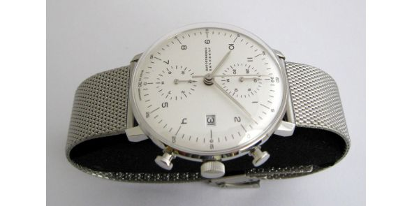 Max Bill Chronoscope by Junghans Automatic Chronograph. Number - MXB 14