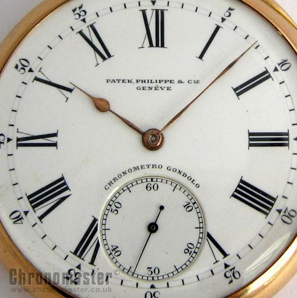 bd2062533 Patek Philippe 18k Gents Automatic Pocket Watch PAT 10   Chronomaster UK