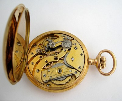 Patek Philippe 18k Gents Automatic Pocket Watch - PAT 10