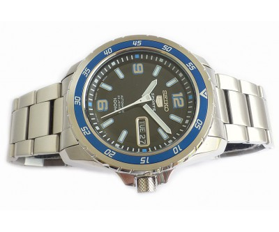 Seiko 5 Sports Automatic 100 Metre Divers - Blue - SEI 115