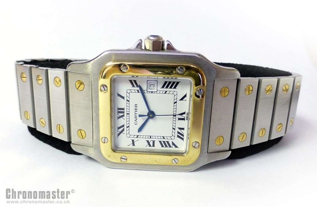 Cartier Santos Automatic Movement