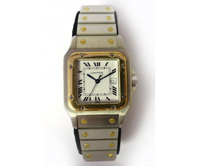 Cartier Santos Automatic Wristwatch - CAR 17