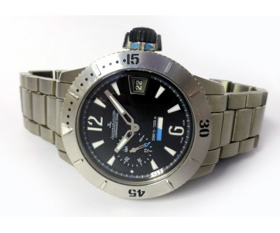 Jaeger LeCoultre Master Compressor Diving GMT 1000m - Limited Edition Titanium - NWW 1024