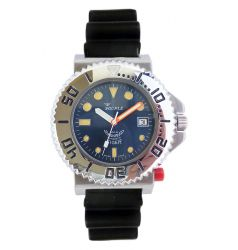Squale Squale Tiger 300 Metre Professional Divers Watch - Blue Dial SQL 07