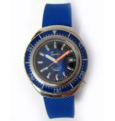 Squale 2002 Blue 1000 Metre Professional Divers Watch SQL 04