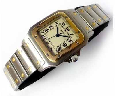Cartier Santos Gents Steel and Gold - CTR 20