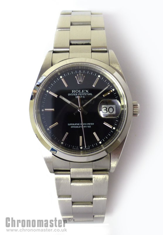 Rolex Oyster Perpetual Date Rol 622 Chronomaster Uk