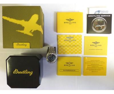 Breitling Super Ocean Automatic 1000m Breitling Authorised Service - Ref: BRL 187
