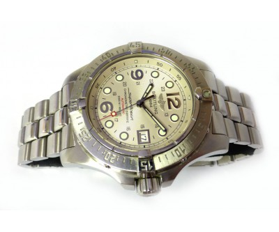 Breitling Super Ocean Automatic Steelfish 2000 M. Officially Certified Chronometer - BRL 188