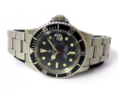 Rolex Submariner Date 1680 Red Sub Original Box and Papers - ROL 627