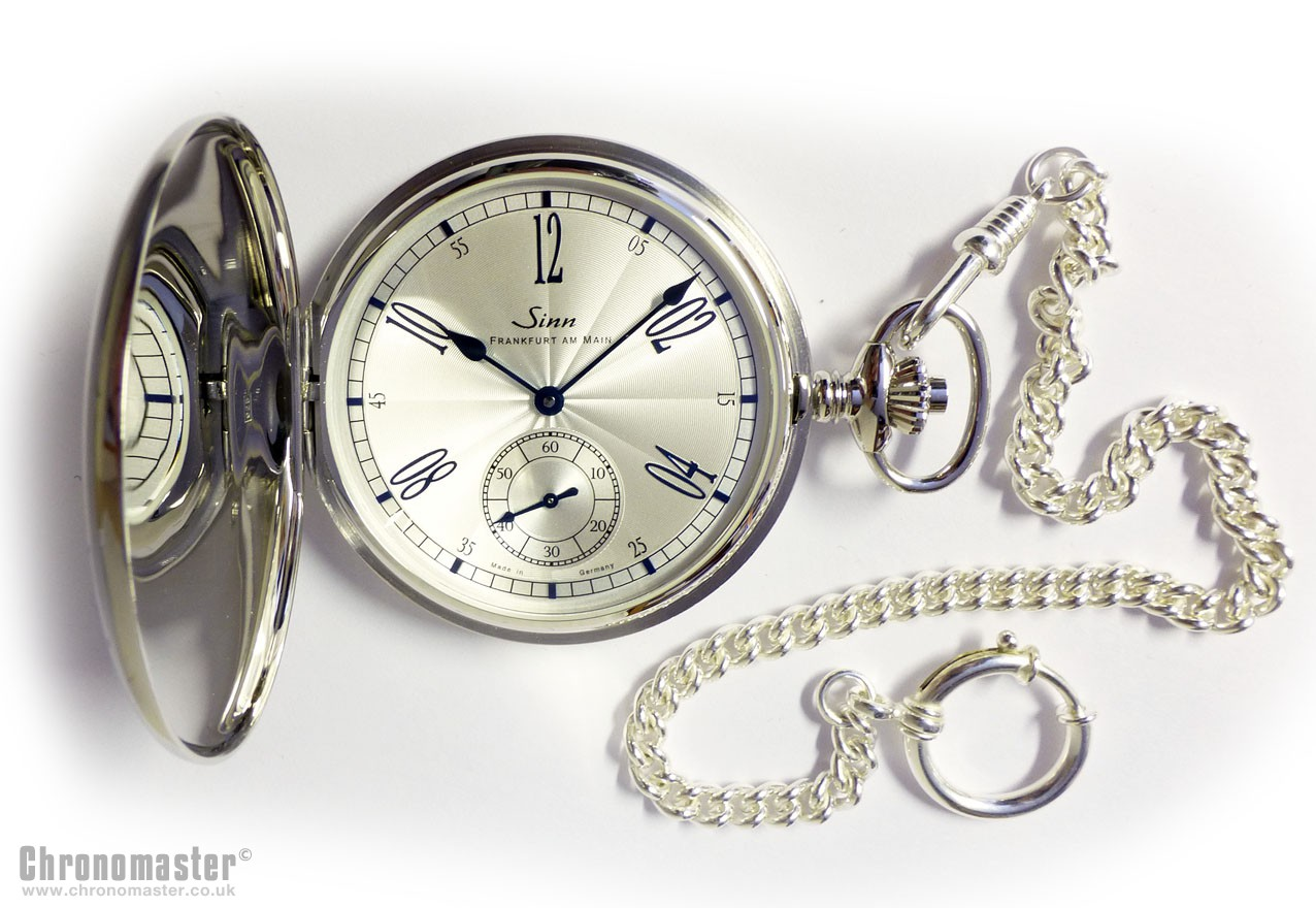 sinn 1910 pocket watch sin 203 chronomaster uk. Black Bedroom Furniture Sets. Home Design Ideas