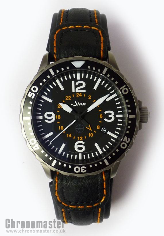 sinn flieger 857 utc testaf automatic pilots watch sin 202