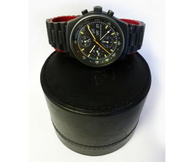 Orfina Porsche Design Black Steel Chronograph. - PDN 25