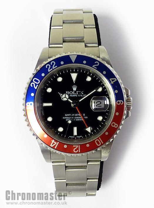 Rolex Gmt Master Ii Rol 637 Chronomaster Uk