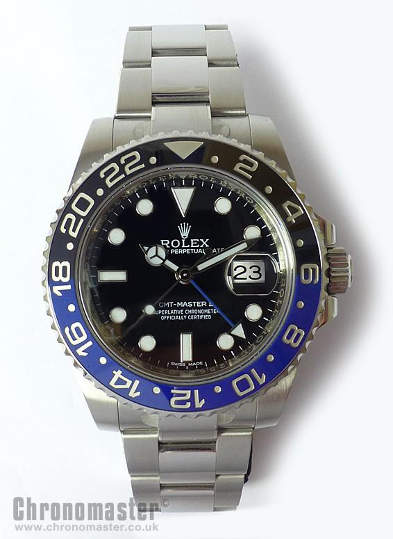 Rolex Gmt Ii Ceramic Blue Black Rol 642 Chronomaster Uk