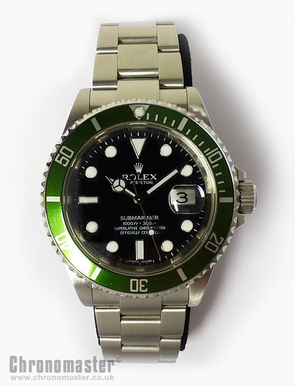 Rolex Submariner Date LV , Green Sub