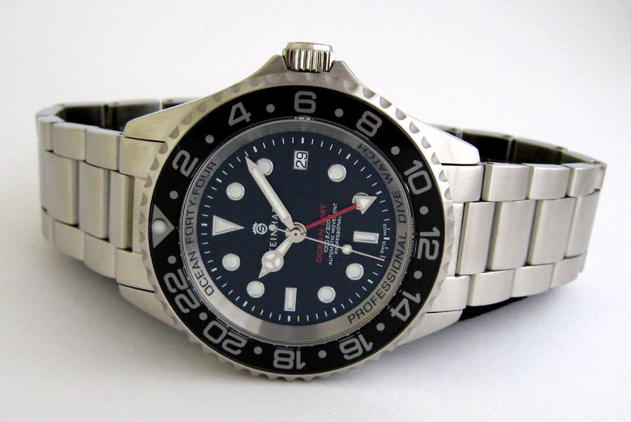 Steinhart Forty Four Gmt Black