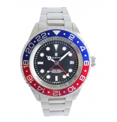 Steinhart Steinhart Forty-Four GMT Blue-Red 103-0656