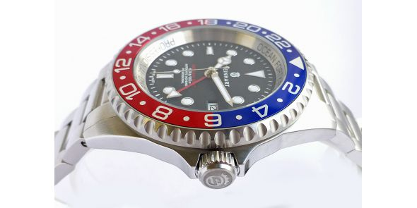 Steinhart Forty-Four GMT Blue-Red - 0656