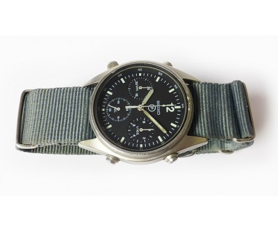 Seiko Generation 1 RN Helicopter Pilots Watch Military Issue. - VMW 167