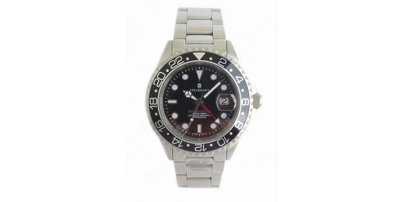 Steinhart GMT Ocean 1 Black - T0201- STH 23