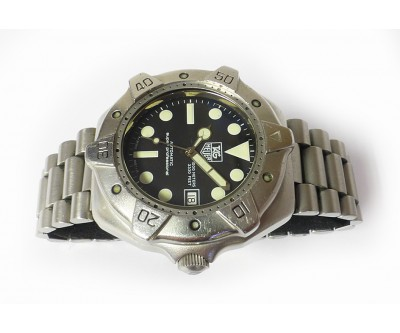 Tag Heuer Super Professional 1000 Metre Divers Watch - HEU 208