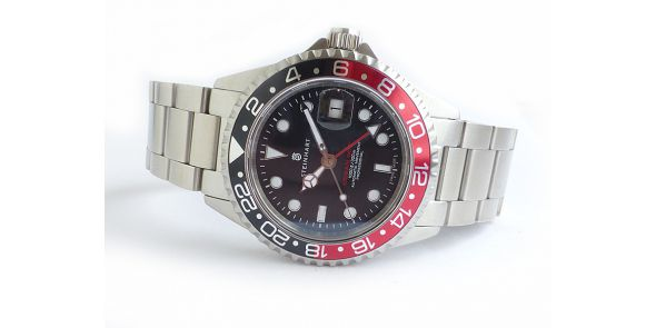 Steinhart GMT Ocean 1 Black Red - T0202-STH 08