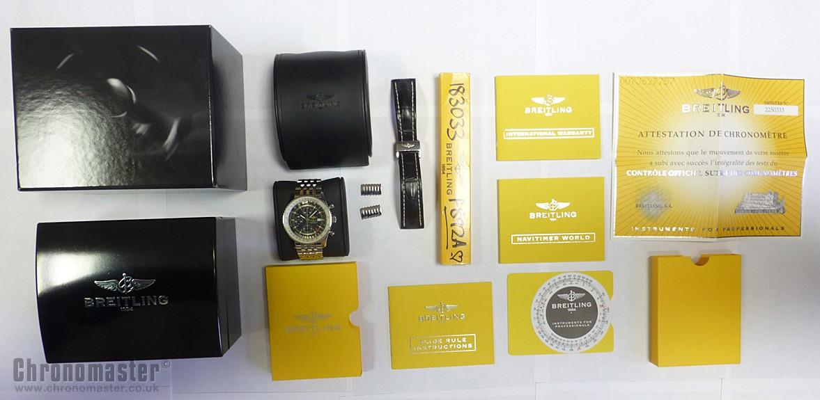 Breitling Navitimer World Bracelet Breitling Navitimer World