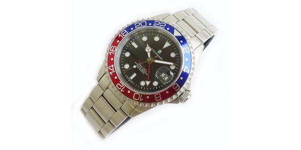 Steinhart GMT Ocean 1 Blue Red - 0835