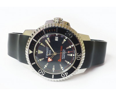 Tissot Seastar Automatic 300 metre Automatic Bracelet and Rubber - NWW 1215