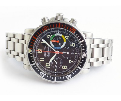 Zenith Rainbow Flyback Chronograph - Multi Colour - ZEN 97